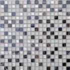 Spain Dark Emperador Marble Mosaic,Glass Mosaic Tiles Pattern