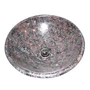 cheap china pink red granite sink basin
