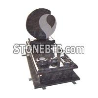cheap purple granite gravestone