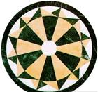 Chinese Marble waterjet floor medallion