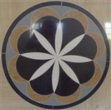 Cheap Natural stone waterjet pattern medallions
