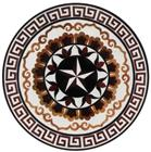 Cheap Popular waterjet marble medallion design