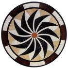 Cheap Round granite and marble medallions