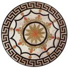 Cheap marble round marble floor medallions tile
