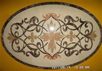 Cheap Decorative Water jet Marble Floor Medallions