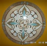 Cheap Chinese Marble waterjet floor medallion