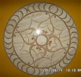 Cheap Chinese Marble Medallion Mosaic Pattern Tile