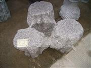 cheap grey granite stone chairs