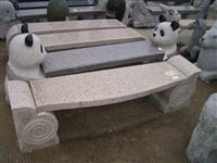 cheap china Natural granite stone chair