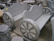 Handcarving Marble Stone Chair Carving
