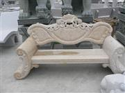 Decorative G682 Carved stone chair