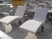 Decorative China granite stone chair