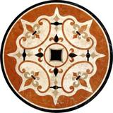 Cheap China Water jet Marble Medallion