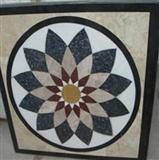 Decorative Cheap Waterjet Marble Medallion Design