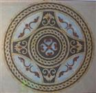 China Interior decoration marble inlay flooring