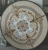 Hot sale Water Jet Marble Medallion Design