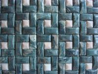 3d green and honey onyx stone mosaic