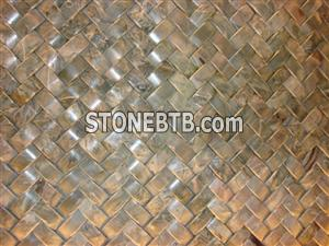 Discount light green Onyx 3D Mosaic Tiles