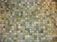 cheap wholesale 3D natural green stone mosaic tile