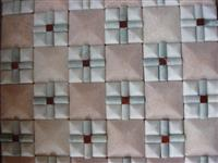 Pretty 3D White Pink Marble Mosaic Pattern Sheet