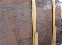 Cheap Polished Multicolor red Granite Slab Tile