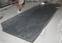 cheap china butterfly blue granite vanity tops