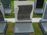 cheap unique style granite tombstone