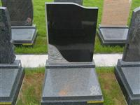 Memorial Stone Headstone with Carved Special Shape Design