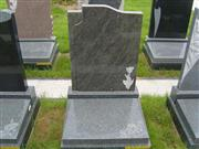 Hand Carved Solid Stone Headstone