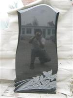 High Polished Chinese Granite Popular Memorial Tombstone