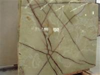 Light Green Onxy Stone Slab Tile