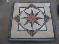 cheap square marble stone mosaic pattern