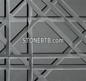 3D Cnc Nature Stone Wave Board Panel