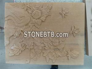 3d nature sandstone decor wall decoration