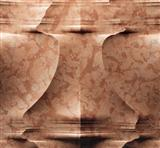 Nature 3D Roso Verona feature leaves stone wall  tile