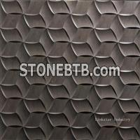 3D decorative stone modern wall paneling designs