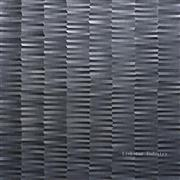 3d black stone wall paneling design