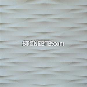 3d feature stone embossed wall decoration tile