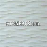 Stone 3d decorative wall cladding tile