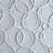 3D white interior feature wall stone tile