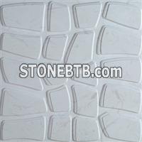 Decorative 3D feature rock wall cladding tile