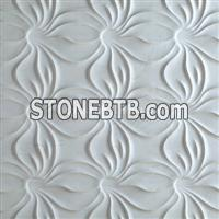 3d natural stone decorative wall tile