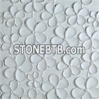 Decorative 3d interior feature wall cladding tile