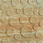 3d natural travertine feature wall decor tiles