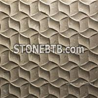 3D decorative interior stone wall cladding design