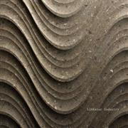 3D CNC decorative wavy stone cladding interior tile