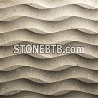 3d decorative indoor stone wall art tile