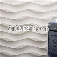 Nature Limestone 3D wall panel