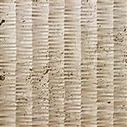 Beige Travertine 3D Wave Panel For Wall