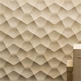 Yellow Artificial Stone 3D Wall Panel